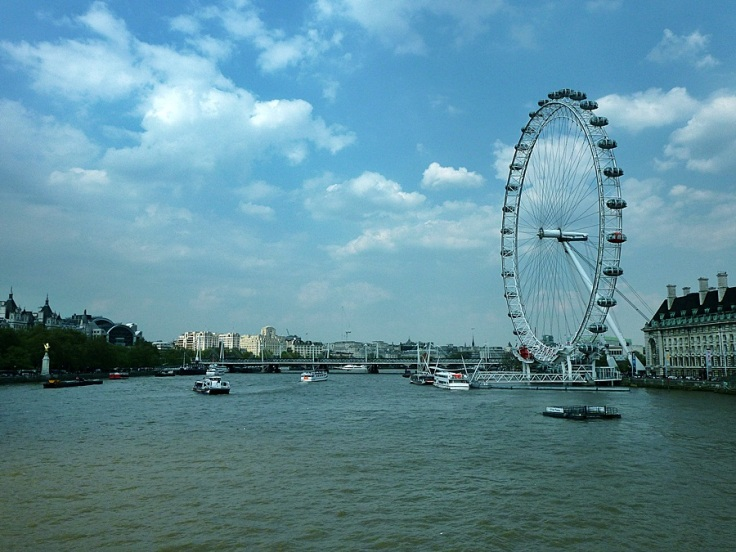 River Thames &  London Eye